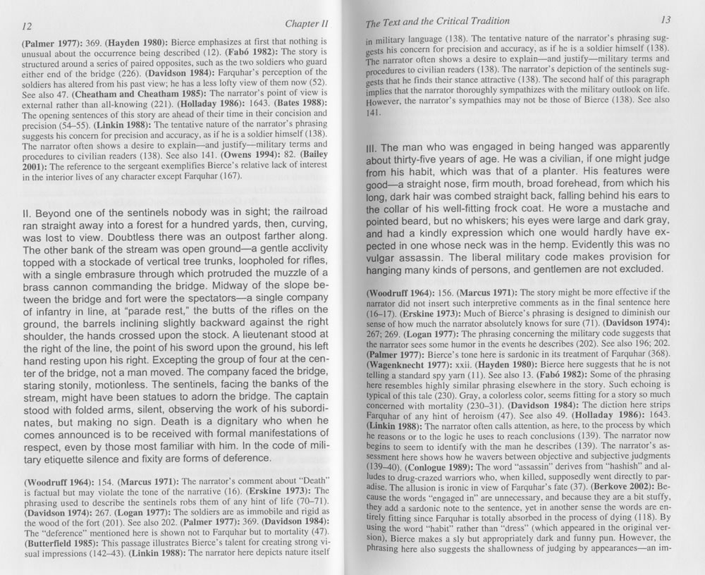 critical essays writing a critical essay sample best photos  robert c evans annotated critical edition of an occurrence at view photograph of page